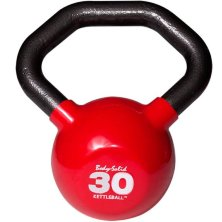 Гиря Body Solid KETTLEBALL KBL30 красная 13,6 кг (30lb)