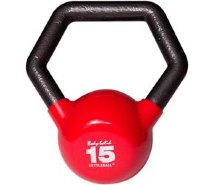 Гиря Body Solid KETTLEBALL KBL15 красная 6,8 кг (15lb)
