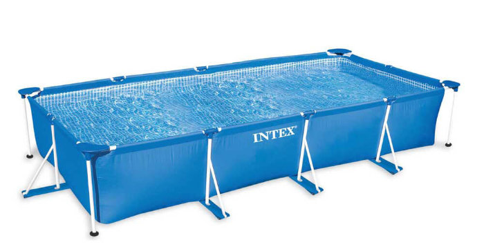 Каркасный бассейн INTEX Rectangular Frame Pool 28273 450х220х84см