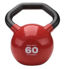 Гиря Body Solid KETTLEBALL KBL60 красная 27.2 кг (60lb)