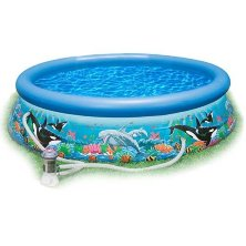 Надувной бассейн INTEX OCEAN REEF EASY SET POOL 28126 305х76 см