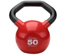 Гиря Body Solid KETTLEBALL KBL50 красная 22,7 кг (50lb)