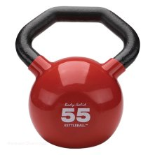 Гиря Body Solid KETTLEBALL KBL55 красная 24.9 кг (55lb)