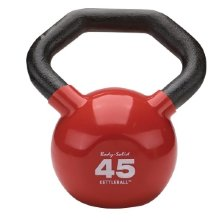 Гиря Body Solid KETTLEBALL KBL45 красная 20,4 кг (45lb)