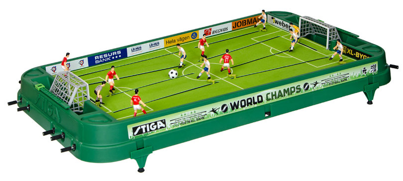 Настольный футбол «Stiga World Champs» (95 x 49 x 12 см, цветной)